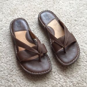 Born Thong Leather Sandals